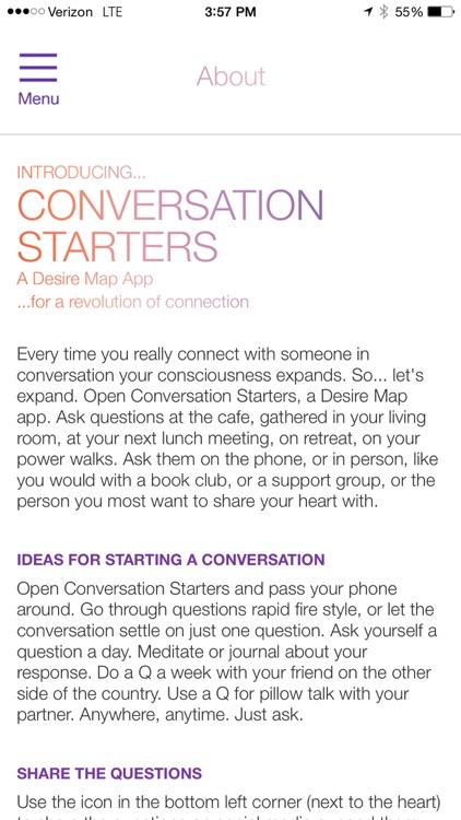 Conversation Starters by Danielle LaPorte