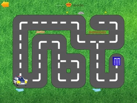 Скачать Автомобили дорога лабиринт - смешно бесплатные образовательные форма комбинационной игры для детей мальчиков малышей и детей дошкольного