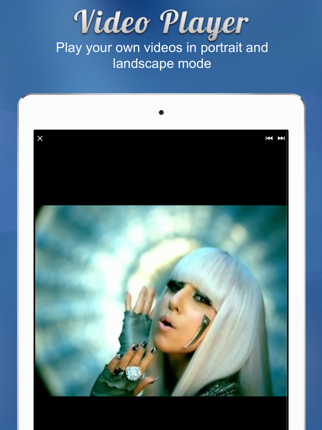 ‎Free Video Background Player Pro & Document Manager Screenshot