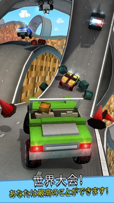 暇つぶし 車 レース ゲーム 子供のための フリー 3D (Crafting Cars)のおすすめ画像3