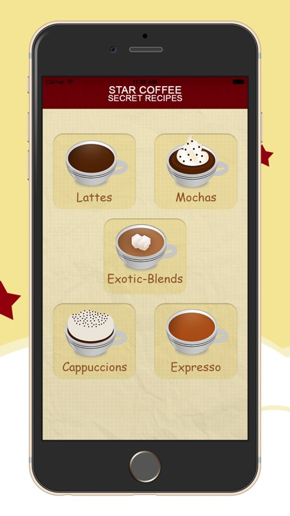 Star Coffee Recipes