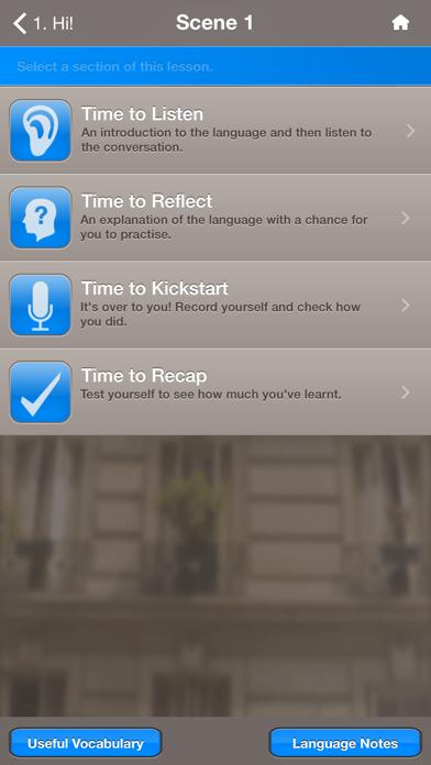 Quickstart French screenshot three