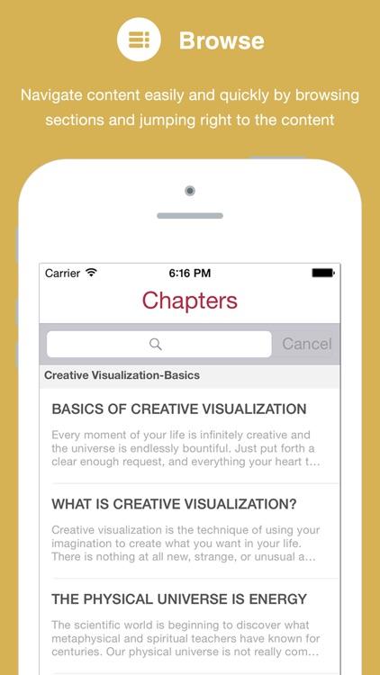 Creative Visualization by Shakti Gawain screenshot-3
