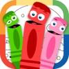 Draw Color & Play - Best Coloring Book App for Preschool Kids - iPhoneアプリ