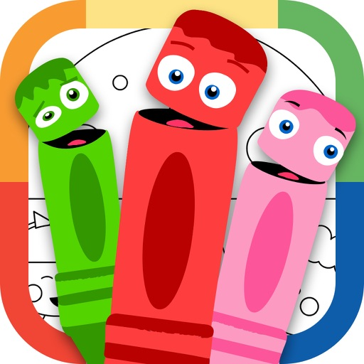 Draw Color & Play - Best Coloring Book App for Preschool Kids