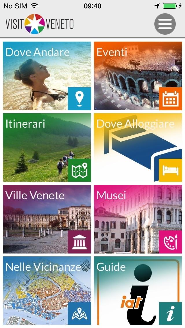 Screenshot of Visit Veneto1