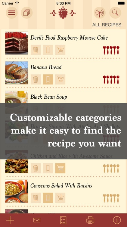 The Recipe Box To Go — Your Pocket, Your Recipes