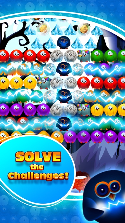 Bubble Birds 3 - Match 3 Puzzle Shooter Game screenshot-1