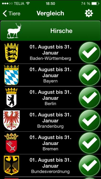 Jagdzeiten.de App screenshot-4