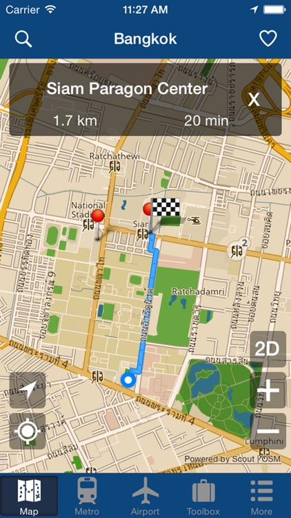 Bangkok Offline Map - City Metro Airport screenshot-4