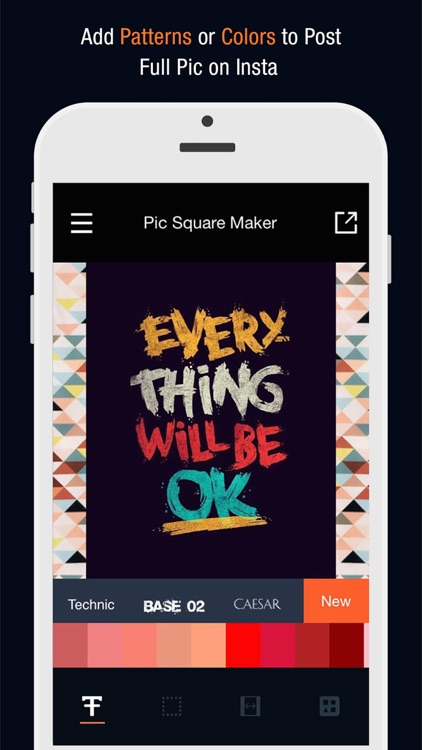 Pic Square Maker - Post Entire Photo Video on Social Media screenshot-1