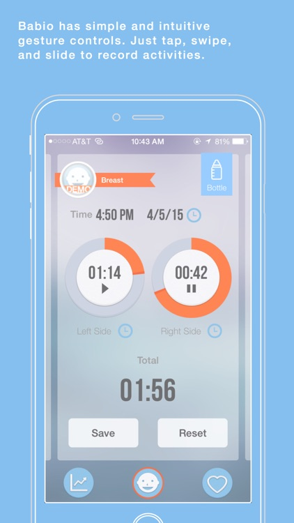 Babio - Baby Activity Tracker & Reminder, Simplified