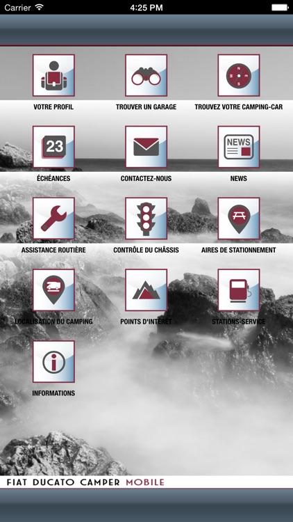 Fiat Ducato Camper Mobile screenshot-4