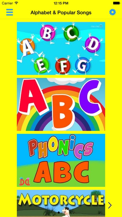 ABC 123 Nursery Rhymes and Songs screenshot-1