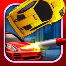 Cartoon Car 3D Real Extreme Traffic Racing Rivals Simulator Game