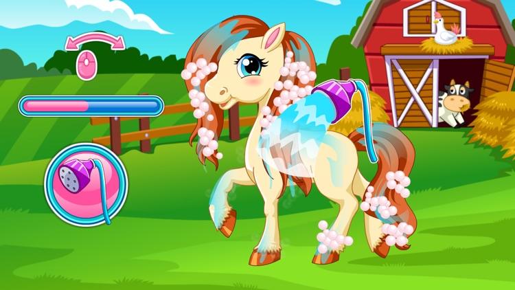 Pony Hair Salon Games and Dress Up screenshot-4