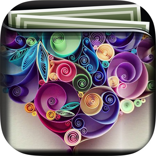 Quilling Art Gallery HD Wallpapers Themes