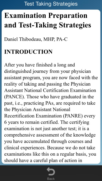 Physician Assistant Exam Review screenshot-3