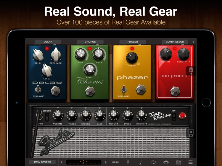 AmpliTube for iPad screenshot-0