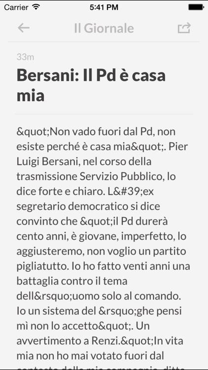Giornali IT - I giornali più importanti d'Italia screenshot-3