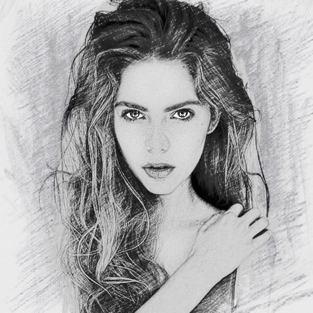 Photo sketch splash my pencil drawing with portrait filter effects on the app store