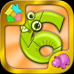 Zahlen Puzzle - Zahlen und Verknüpfungen