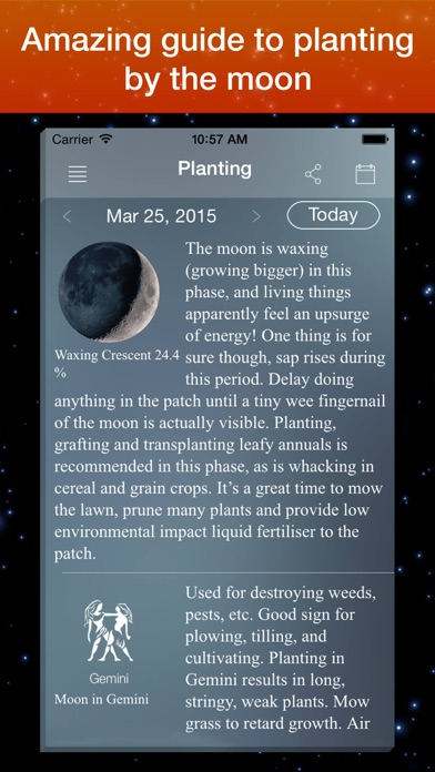 Moon Phase Calendar . screenshot four