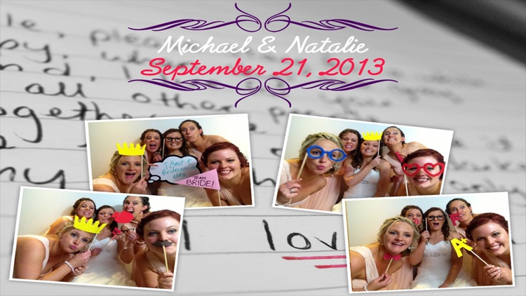 A Celebration Photo Booth - Wedding, Birthday and More Themes For A Special Day
