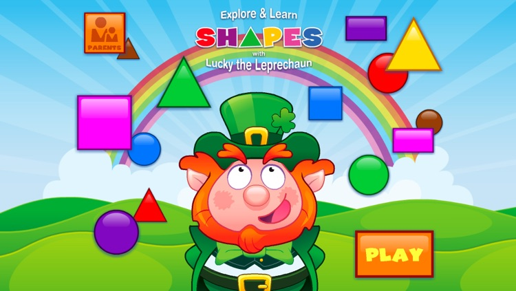 Shapes with Lucky the Leprechaun screenshot-0