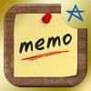 らくメモ -らくチン&シンプルなふせん風メモ帳アプリ- - iPhoneアプリ