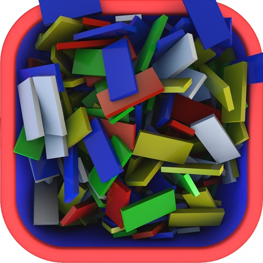 Domino 3D Express V2 - A creative sandbox game iOS App