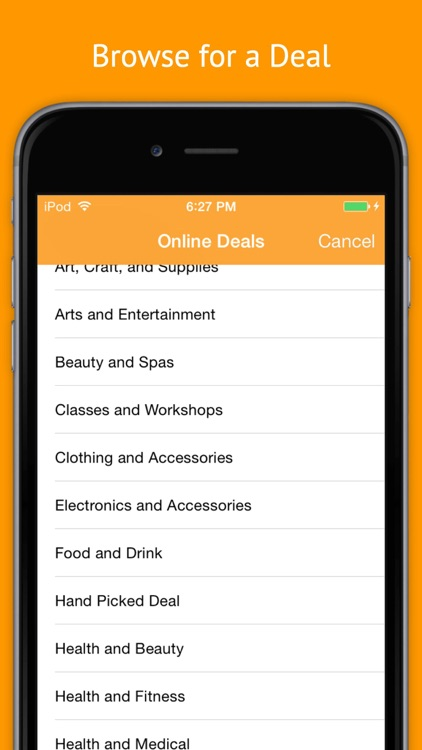 Deal Drop: The Best App for Online & Local Daily Deals screenshot-1