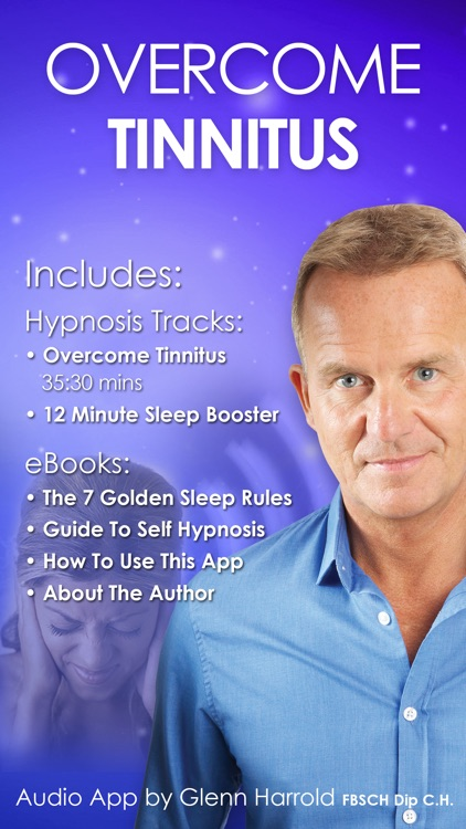 Overcome Tinnitus Self-Hypnosis by Glenn Harrold