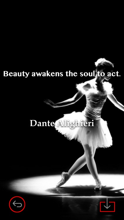 Dance Art Theme HD Wallpaper And Best Inspirational Quotes Backgrounds Creator Screenshot 3