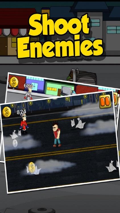 Ninja Granny - Angry Grandma Against Crime screenshot-3