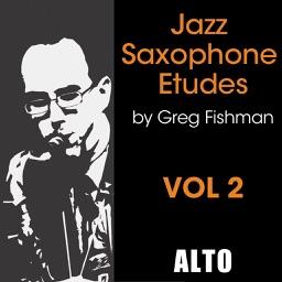 Jazz Saxophone Etudes Volume 2 Alto