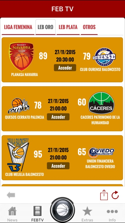 Spain Basketball League Scores