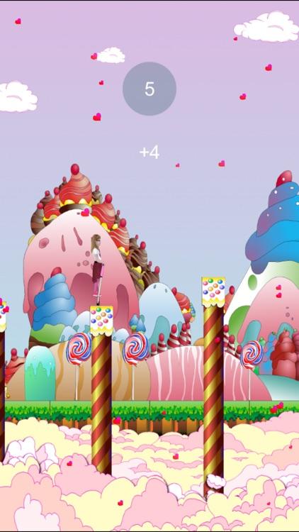 Nea's Pogo Jump Challenge in Magical Sugar Land screenshot-3