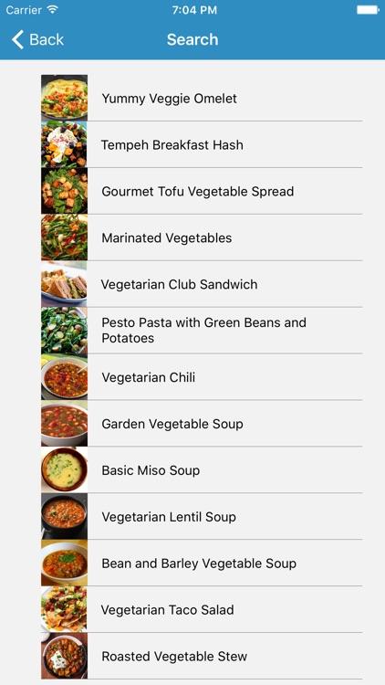 Vegetarian Recipes+
