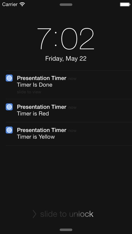 Presentation Timer +++ screenshot-1