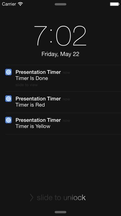 Presentation Timer +++