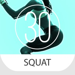 ‎30 Day Squat Challenge for Strong Legs and Butt