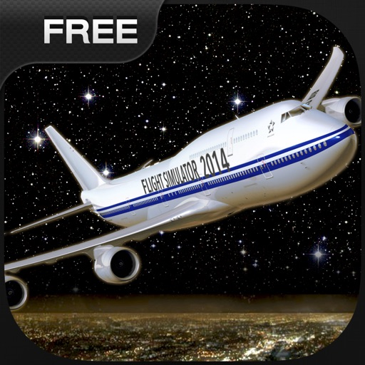Flight Simuator New York FlyWings Night Fly 2015 Free