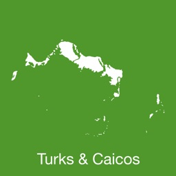 Turks & Caicos GPS Map