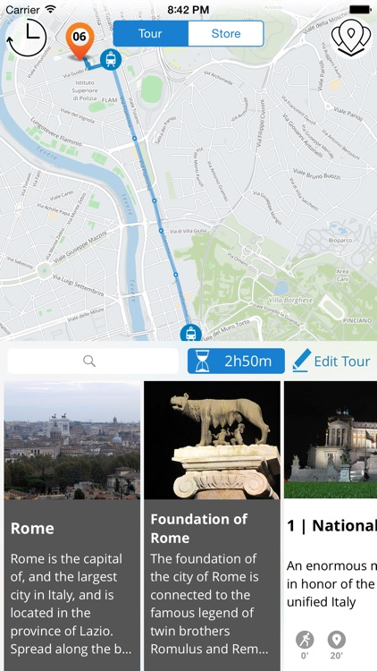 Rome Premium | JiTT.travel Audio City Guide & Tour Planner with Offline Maps screenshot-3