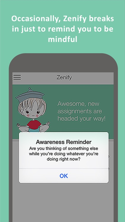 Zenify Premium - Meditation and Mindfulness Training Techniques for peace of mind, stress relief and focus screenshot-3