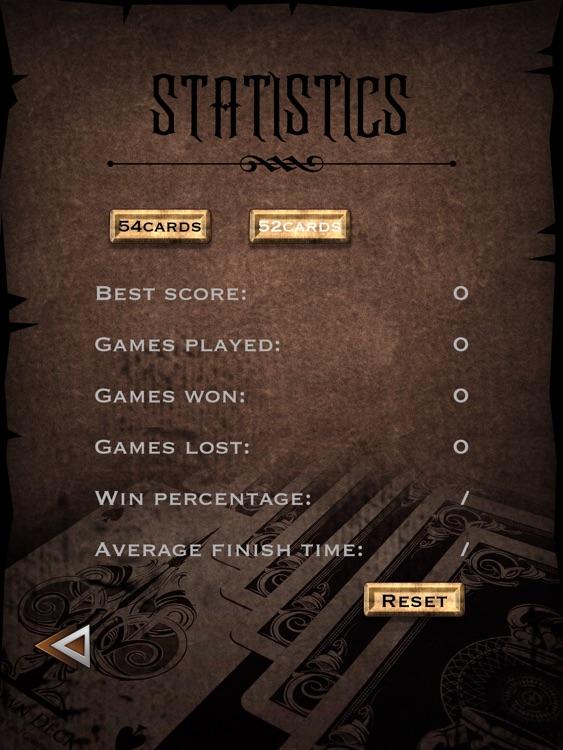 TriPeaks Solitaire for iPad screenshot-3
