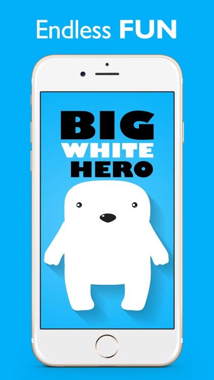 Big White Hero: The Epic Jump Game screenshot-0