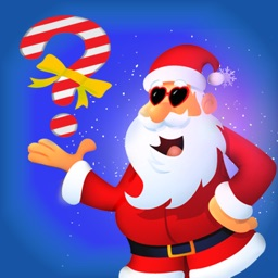 Intelligent Santa 2 Pic Word Trivia Quiz & guess what's two picture saying
