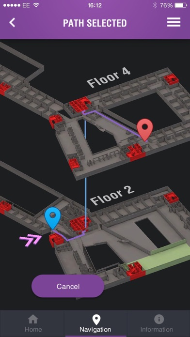 City of Glasgow College Navigation screenshot four